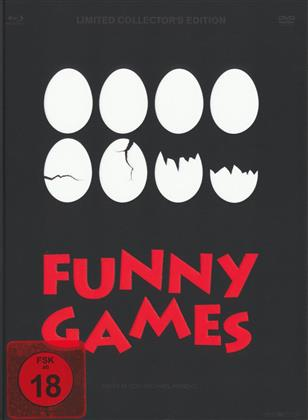 Funny Games (Limited Collector's Edition, Mediabook, Blu-ray + 3 DVDs)