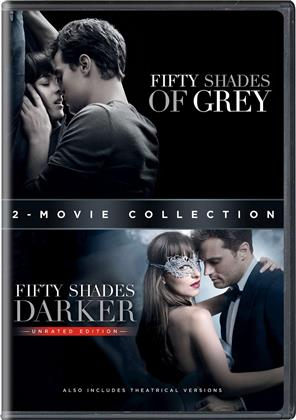 Fifty Shades of Grey / Fifty Shades Darker (2-Movie Collection, Unrated, 2 DVD)