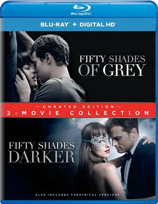 Fifty Shades of Grey / Fifty Shades Darker (2-Movie Collection, Unrated, 2 Blu-rays)