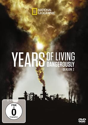 Years of Living Dangerously - Staffel 2 (National Geographic, 3 DVDs)