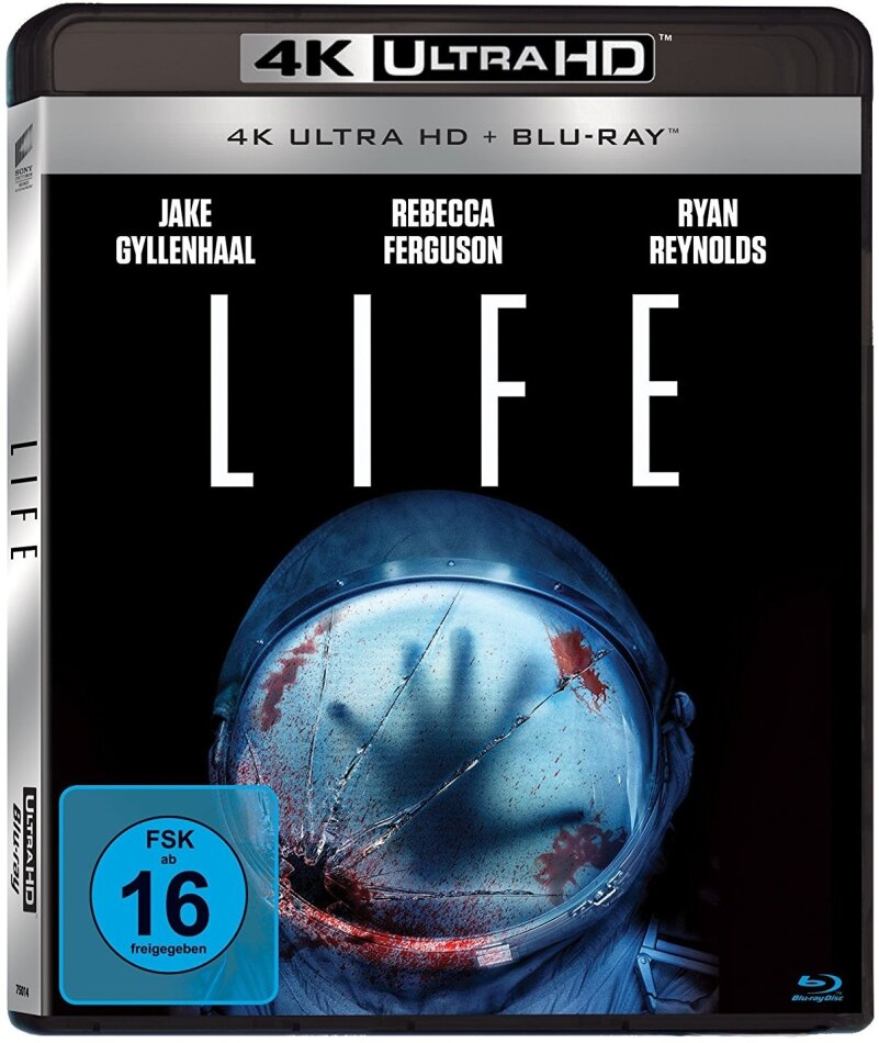 Life (2017) (4K Ultra HD + Blu-ray)