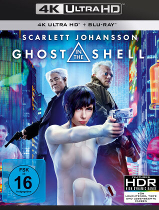 Ghost in the Shell - Realfilm (2017) (4K Ultra HD + Blu-ray)
