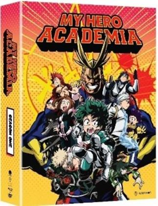 My Hero Academia - Season 1 (Limited Edition, 3 Blu-rays + 2 DVDs)