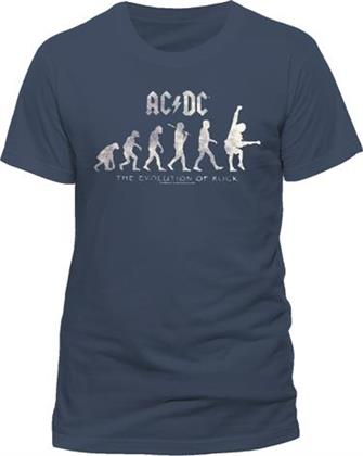 AC/DC - Evolution of Rock T-Shirt