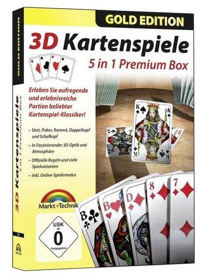 Image of 3D Kartenspiele - 5 in1 Premium Box