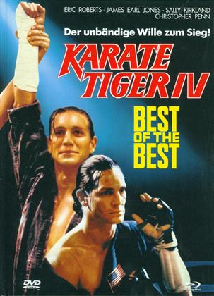 Best of the Best 1 - Karate Tiger IV (1989) (Cover A, Edizione Limitata, Mediabook, Uncut, Blu-ray + DVD)