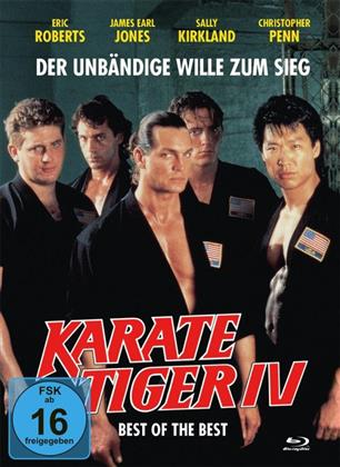 Best of the Best 1 - Karate Tiger IV (1989) (Cover B, Limited Edition, Mediabook, Uncut, Blu-ray + DVD)