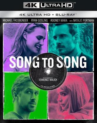 Song to Song (2017) (4K Ultra HD + Blu-ray)