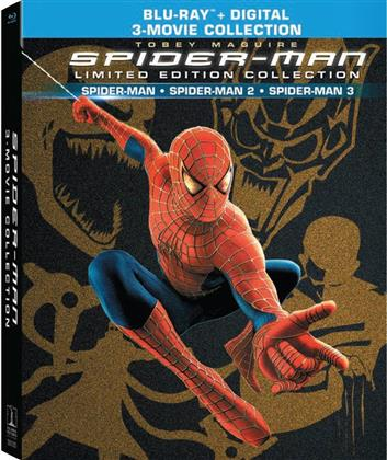 Spider-Man - Spider-Man / Spider-Man 2 / Spider-Man 3 (3-Movie Collection, Digibook, Edizione Limitata, 4 Blu-ray)