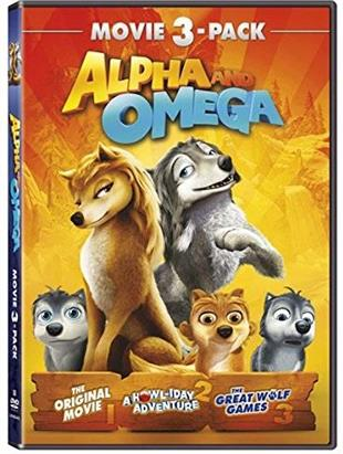 Alpha and Omega - Movie 3-Pack (3 DVDs)