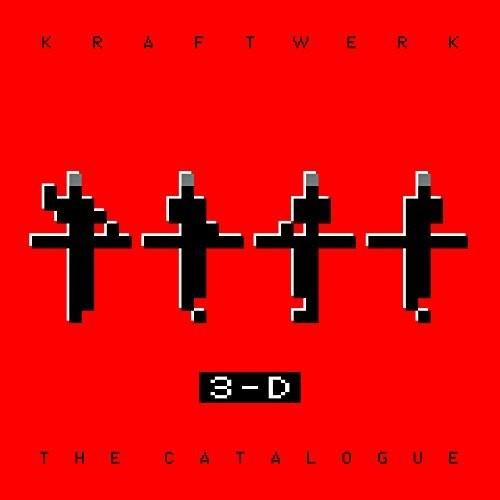 Kraftwerk 3D - 3-D - Der Katalog (4 Blu-ray 3D (+2D) & Buch)