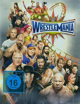 WWE: Wrestlemania 33 (2017) (Steelbox, 2 Blu-rays)