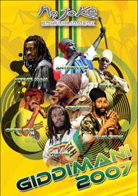Various Artists - Giddimani 2007 - Live Reggae