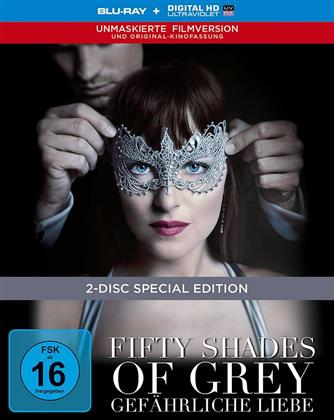 Fifty Shades of Grey 2 - Gefährliche Liebe (2017) (Unmaskierte Filmversion, Extended Edition, Kinoversion, Limited Edition, Mediabook, Special Edition, Blu-ray + DVD)