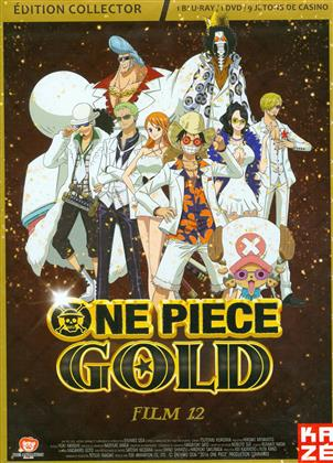 One Piece - Le Film 12 - Gold (2016) (Collector's Edition, Blu-ray + DVD)