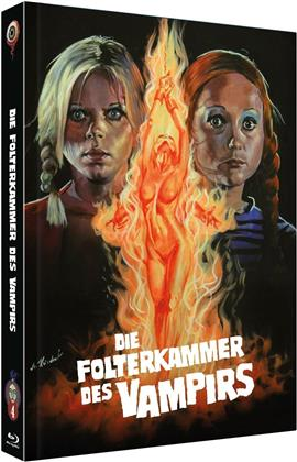 Die Folterkammer des Vampirs (1971) (Cover B, Jean Rollin Collection, Limited Edition, Mediabook, Uncut, Blu-ray + DVD)