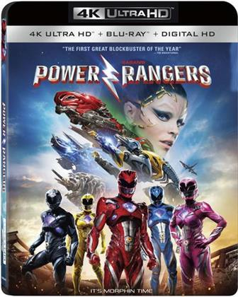 Saban's Power Rangers (2017) (Widescreen, 4K Ultra HD + Blu-ray)