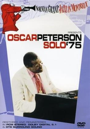 Oscar Peterson - Norman Granz Jazz in Montreux presents Oscar Peterson Solo '75 (Remastered)