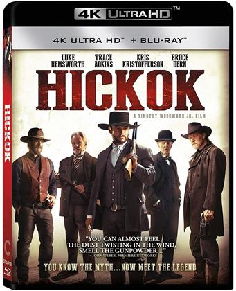 Hickok (2017) (4K Ultra HD + Blu-ray)
