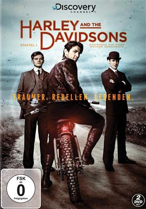 Harley and The Davidsons - Staffel 1 (Discovery Channel, 2 DVD)