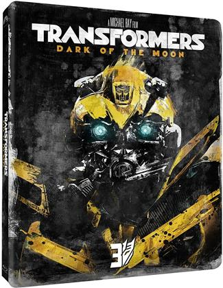 Transformers 3 - Dark of the Moon (2011) (Edizione Limitata, Steelbook, 2 Blu-ray)