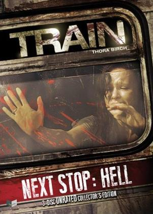Train - Next Stop: Hell (2008) (Collector's Edition, Limited Edition, Mediabook, Uncut, Unrated, Blu-ray + 2 DVDs)