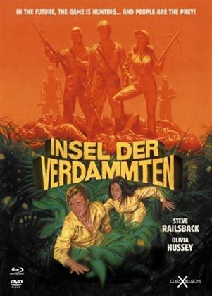Insel der Verdammten (1982) (Class-X-Illusions, Digibook, Limited Edition, Uncut, Blu-ray + DVD)