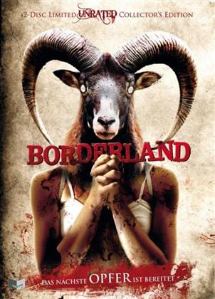 Borderland (2007) (Cover A, Collector's Edition, Limited Edition, Mediabook, Uncut, Unrated, Blu-ray + DVD)