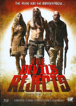 The Devil's Rejects (2005) (Cover B, Collector's Edition, Director's Cut, Limited Edition, Mediabook, Uncut, Blu-ray + 2 DVDs)
