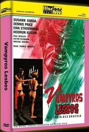 Vampyros Lesbos - Die Erbin des Dracula (1971) (Grosse Hartbox, Cover A, Limited Edition, Uncut)
