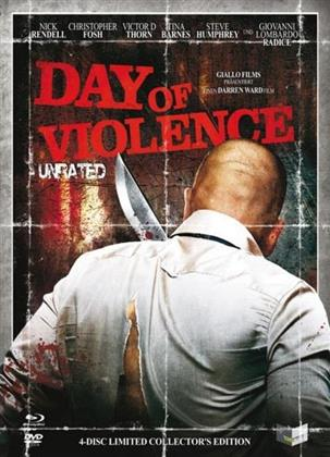 Day of Violence (2010) (Digipack, Cover B, Collector's Edition, Limited Edition, Uncut, Unrated, Blu-ray + 3 DVDs)