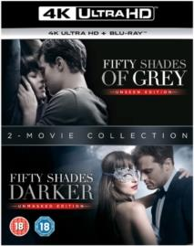 Fifty Shades Of Grey / Fifty Shades Darker (2 4K Ultra HDs + 2 Blu-rays)