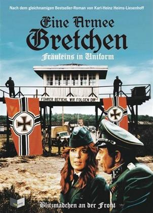 Eine Armee Gretchen - Fräuleins in Uniform (1973) (Cover A, Limited Edition, Mediabook, Uncut, Blu-ray + DVD)