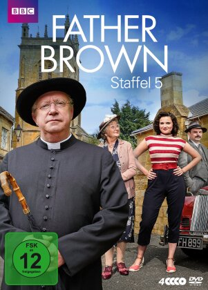 Father Brown - Staffel 5 (BBC, 4 DVDs)