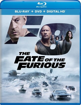The Fate of the Furious (2017) (Blu-ray + DVD)