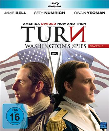 Turn - Washington's Spies - Staffel 3 (4 Blu-rays)