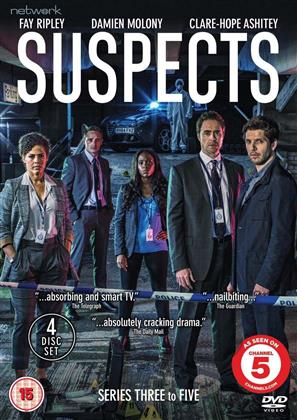 Suspects - Series 3-5 (4 DVDs)