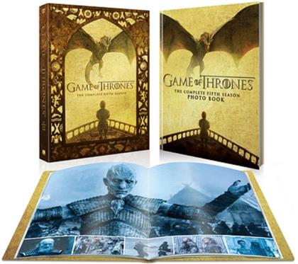 Game Of Thrones - Season 5 (Limited Edition, 5 DVDs)