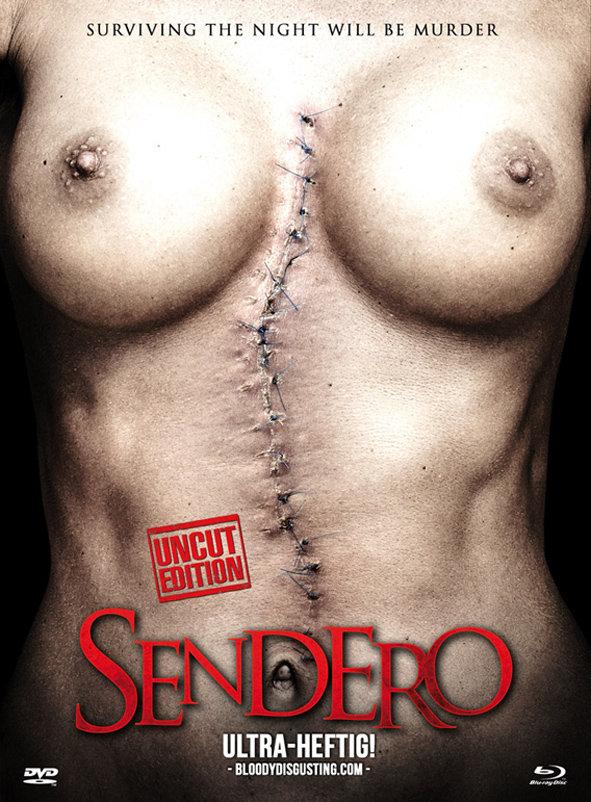 Sendero (2015) - (Cover A, Limited Edition, Mediabook, Uncut, Blu-ray & DVD)