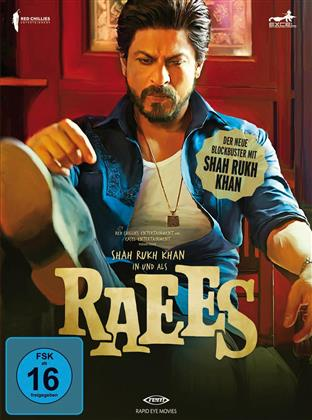 Raees (2016) (Digibook, Limited Edition, Special Edition, Blu-ray + DVD)