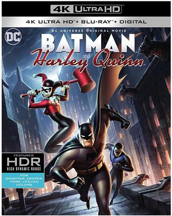 Batman and Harley Quinn (2017) (4K Ultra HD + Blu-ray)