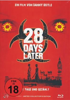 28 Days Later (2002) (Cover A, Collector's Edition, Limited Edition, Mediabook, Uncut, Blu-ray + DVD)