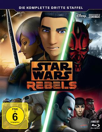 Star Wars Rebels - Staffel 3 (3 Blu-rays)