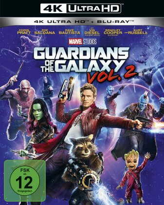 Guardians of the Galaxy - Vol. 2 (2017) (4K Ultra HD + Blu-ray)