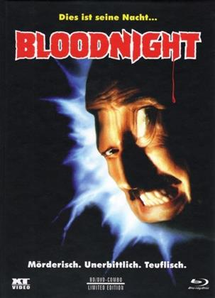 Bloodnight (1989) (Cover A, Limited Edition, Mediabook, Uncut, Blu-ray + DVD)