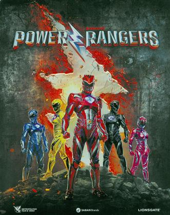 Power Rangers (2017) (Limited Edition, Steelbook, Blu-ray + DVD)
