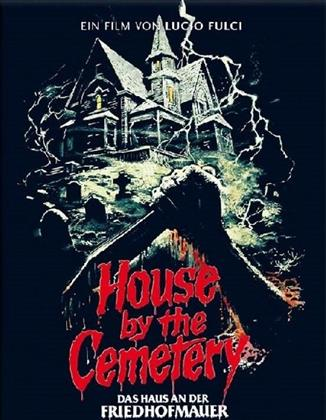 House by the Cemetery - Das Haus an der Friedhofmauer (1981) (Cover C, Limited Edition, Mediabook, Uncut, Blu-ray + DVD)