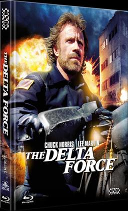 The Delta Force (1986) (Cover C, Limited Edition, Mediabook, Uncut, Blu-ray + DVD)