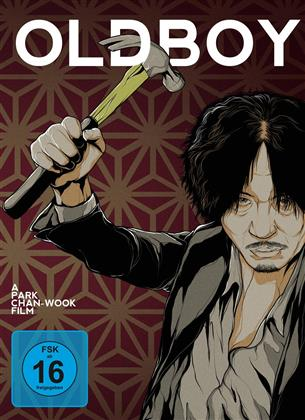Oldboy (2003) (Collector's Edition, Limited Edition, Mediabook, Uncut, 2 Blu-rays + DVD + CD)