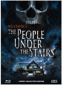 The People Under the Stairs (1991) (Cover B, Collector's Edition, Limited Edition, Mediabook, Uncut, Blu-ray + DVD)
